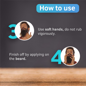 Ustraa Beard Oil - How to Use