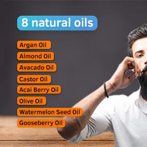 Ustraa Beard Oil - Ingredints