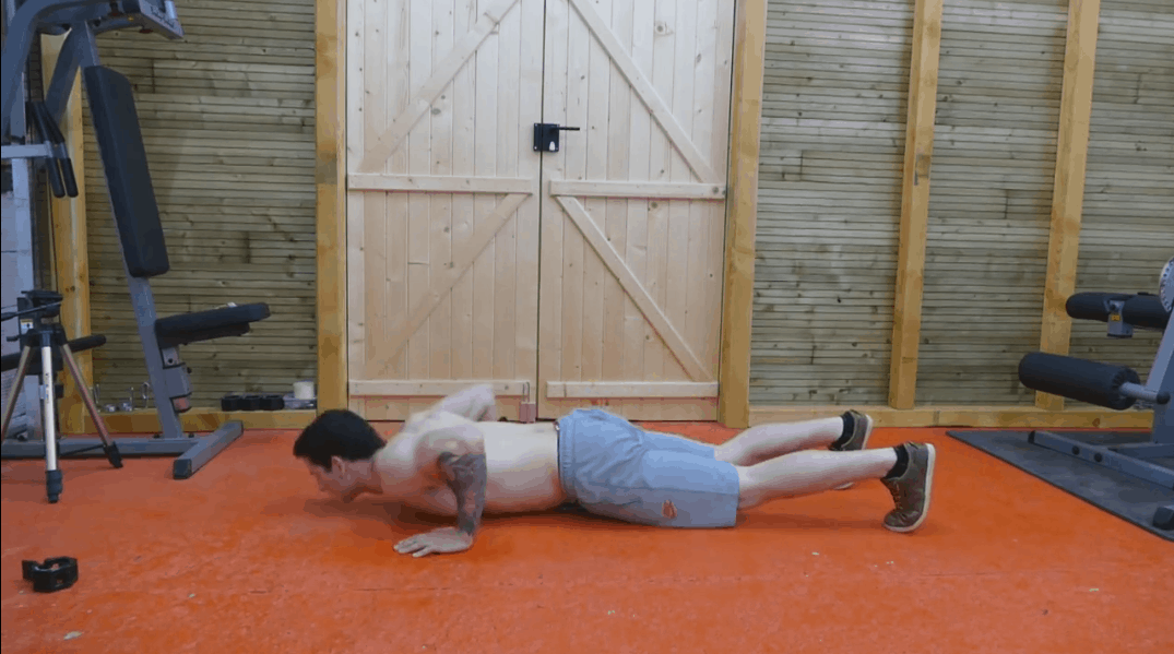 Aztec Push Ups - Step 2