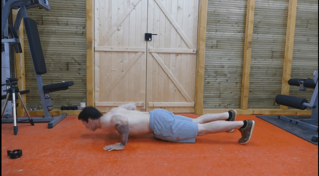 Aztec Push Ups - Step 5