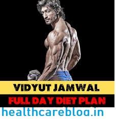 Vidyut Jamwal Diet
