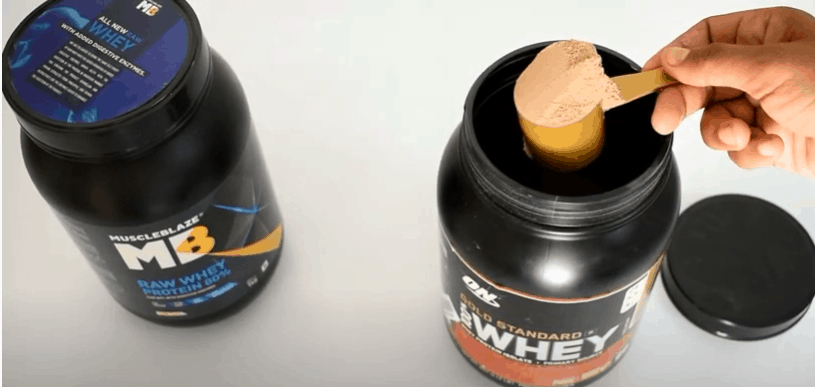 Muscleblaze VS Optimum Nutrition Whey Protein - Review.