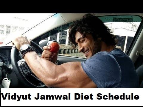 Vidyut Jamwal Diet Schedule - Healthcare Blog