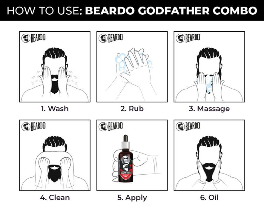 How to Apply Beardo Beard Oil - Healthcare Blog
